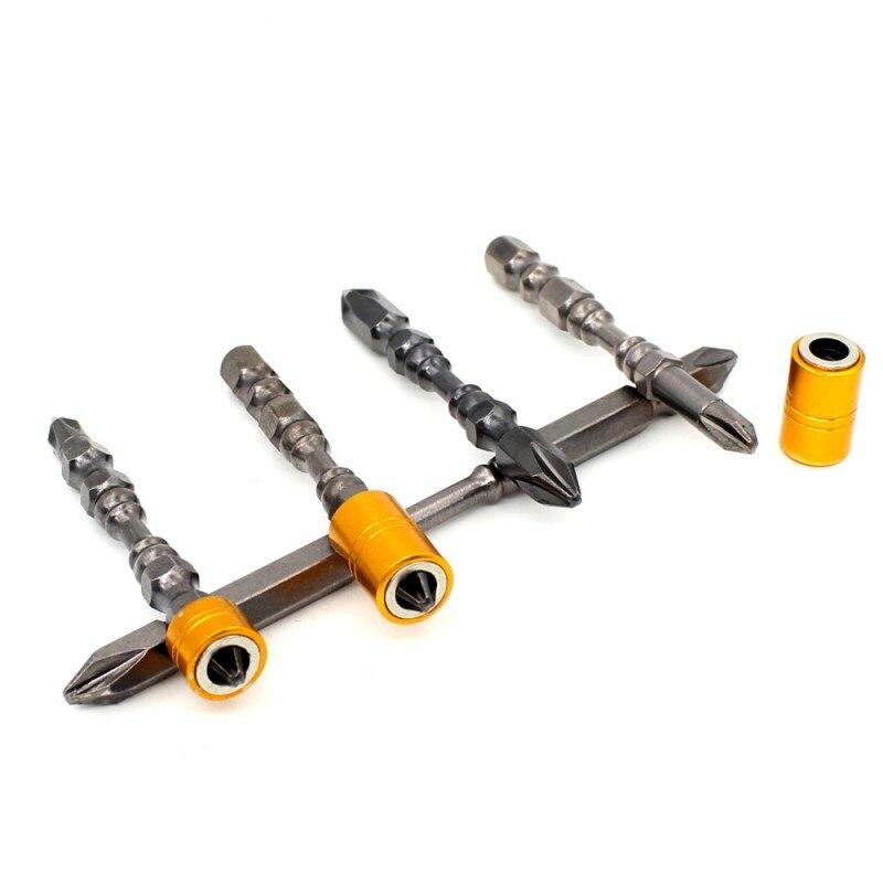1 шт. PH2 1/4 магнитным бит 65 мм 110 мм Phillips электронных отвертки двойной головкой для гипсокартона винты