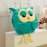 Newest 45cm Stuffed Owl Hand Warm Hold Pillow Cushion Soft Plush Doll Toys Gifts Cute