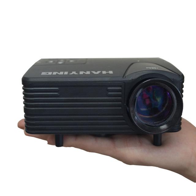 H80 home theater mini projetor LCD portátil com VGA AV HDMI 80LM 640*480 400: 1 micro projetor para cinema em casa