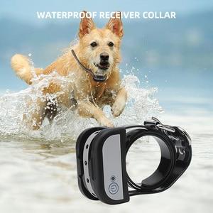 Image 2 - אלחוטי חשמלי כלב גדר חיצוני לחיות מחמד כלב אימון צווארון עמיד למים נטענת משדר מקלט הבלימה חיית מחמד