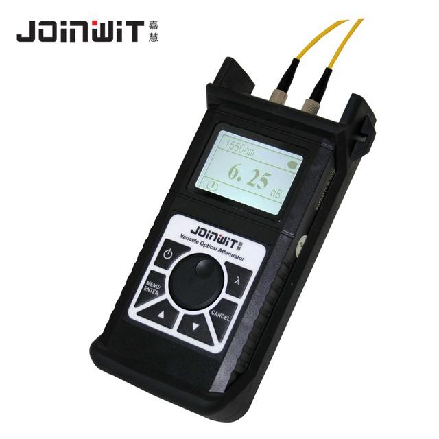 JW3303 Óptico Variável Atenuador Telecom CATV De Fibra Óptica Tester 2.5 ~ 60dB 1260 ~ 1650 atenuador óptico Variável