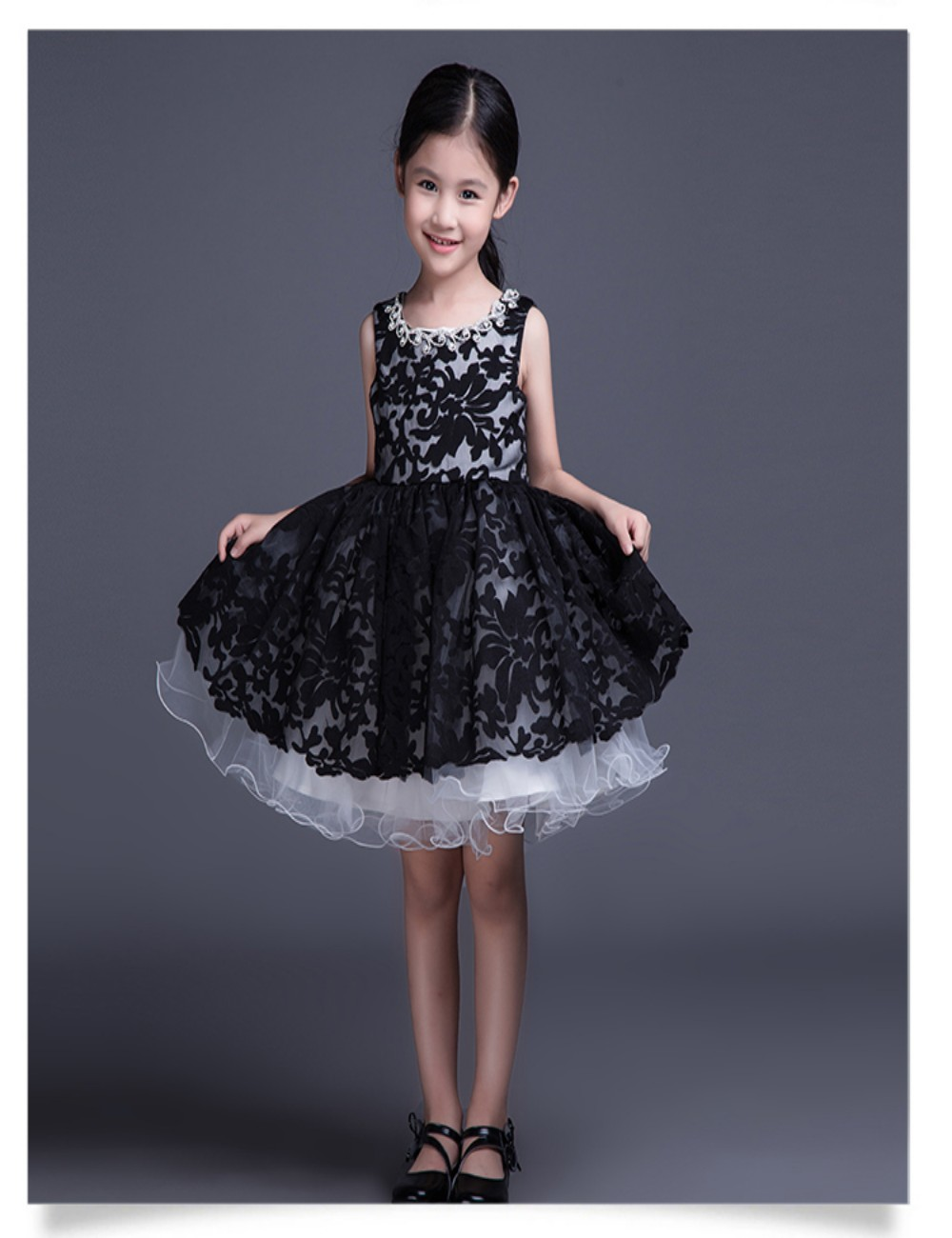 2015 New Style First Communion Dresses For Girls Black ...