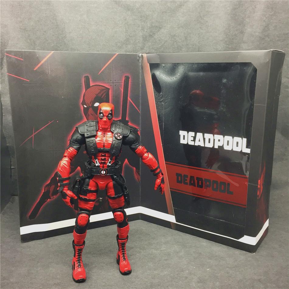 SAINTGI  Deadpool X-man Marvel Avengers Univeres Legends Wade Wilson Super Heron Original Boxed Globos Figure 21cm PVC Model кабель инструментальный vovox link direct s350 trs trs