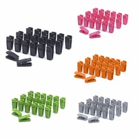 High Quality Clothes Pegs 20PCS Heavy Duty Clothes Pegs Plastic Hangers Racks Clothespins Laundry Clothes Pins