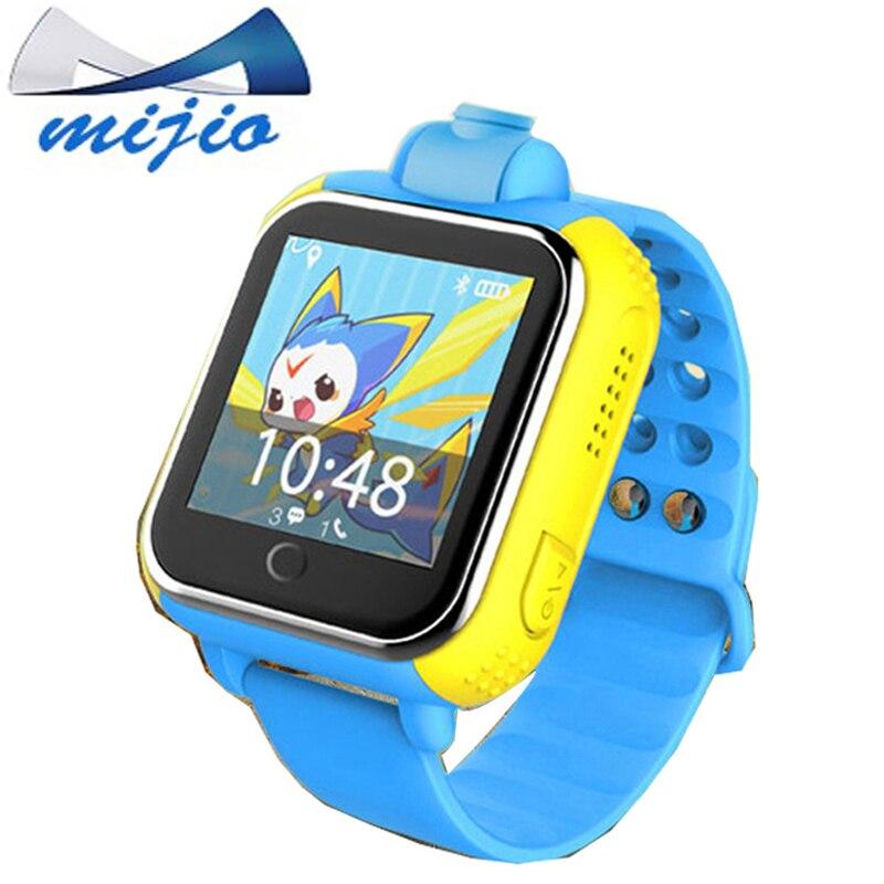Смарт-Детские часы телефон jm13 q730 3G WI-FI GPS трекер для детей безопасный sim-карты Камера часы Дети SmartWatch pk q90 Q50 часы