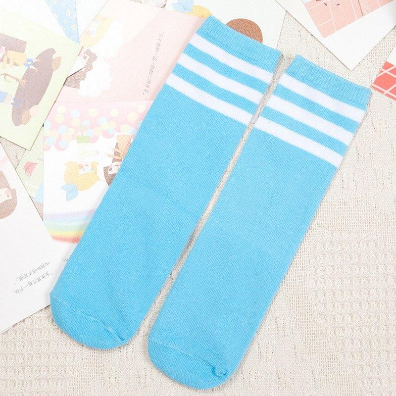 Kids-Knee-High-Socks-for-Girls-Boys-Football-Stripes-Cotton-Sports-Old-School-White-Socks-Skate-Children-Baby-Long-Tube-Leg-Warm-5