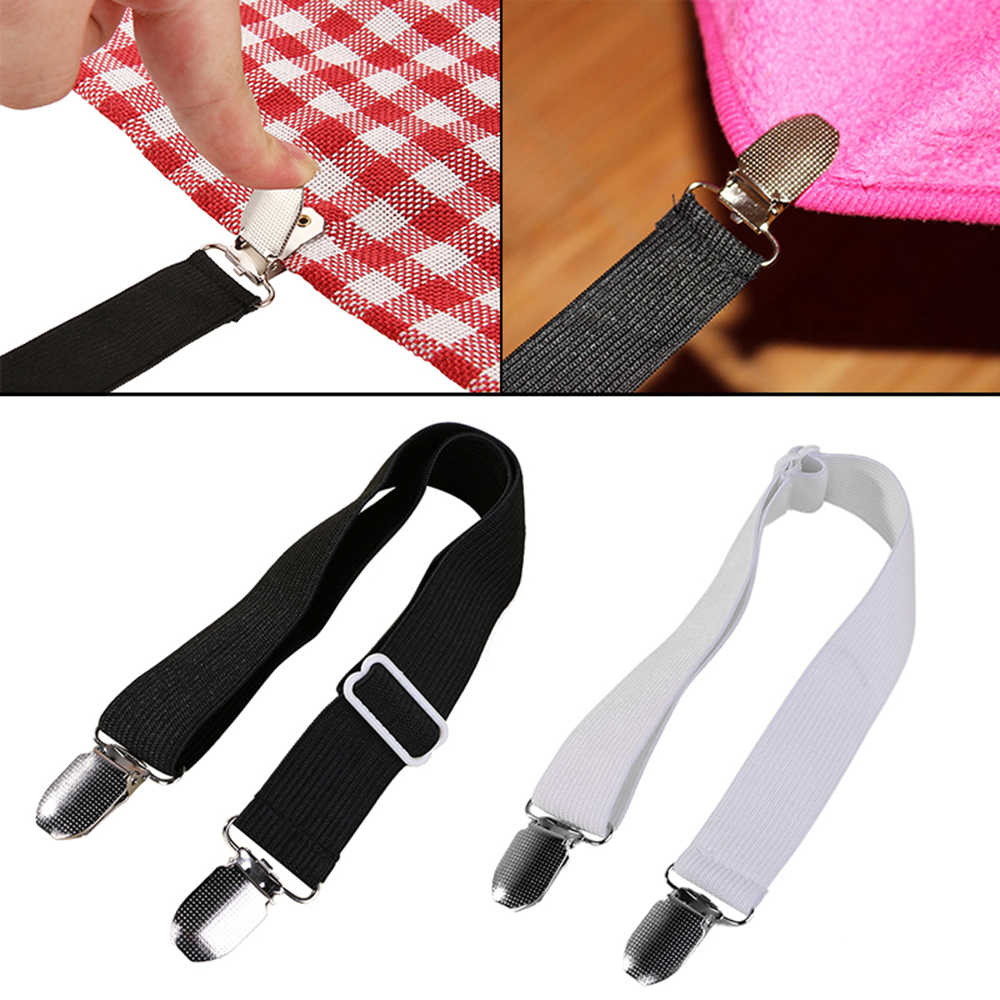 1Pcs Bed Mattress Sheet Gripper Cover Blankets Home Grippers Clip Holder Fasteners Elastic Straps Fixing Slip-Resistant Belt
