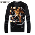 HOT  selling 2016 new brand  High quality clothing man 's autumn sweater for v-neck for men F6668