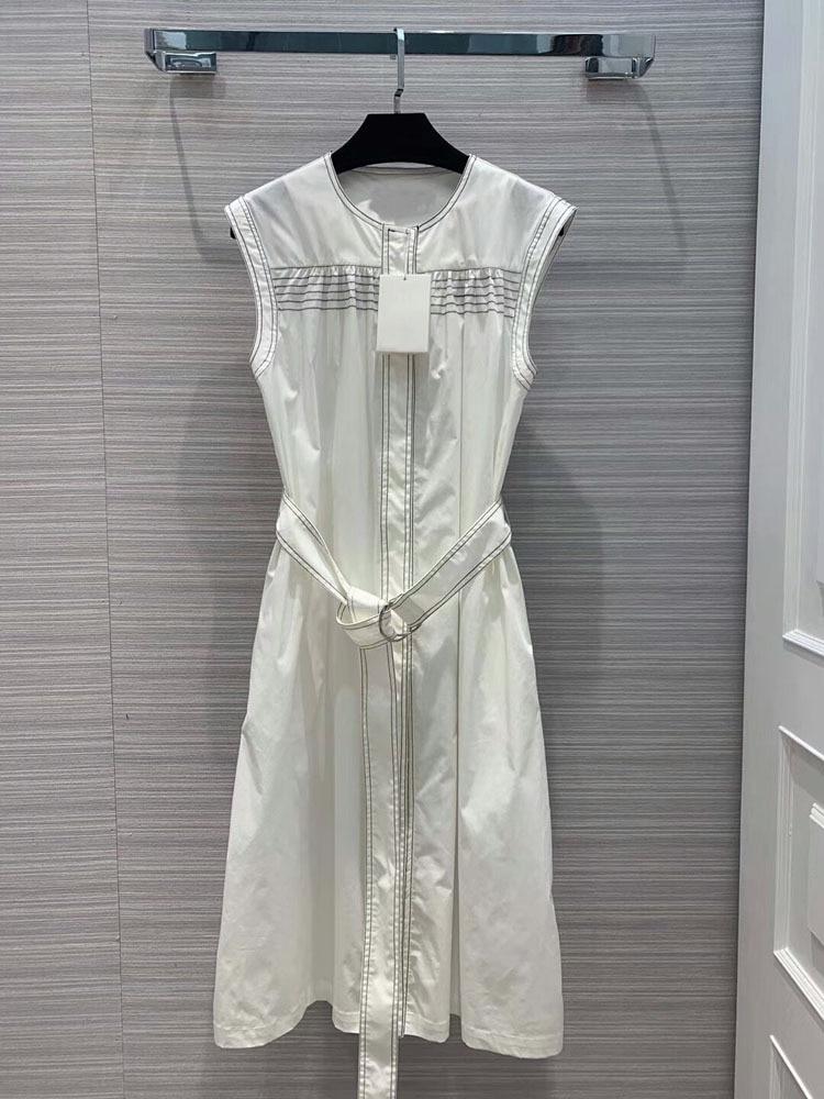 Kobiety moda 2019 o neck lato bez rękawów sukienki z długim rękawem at190138 w Suknie od Odzież damska na  Grupa 1