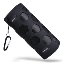 лучшая цена N919 Shockproof Speakers Portable IPX6 Waterproof Wireless Bluetooth Speaker AUX Input NFC Function HD Stereo Speaker with Hook