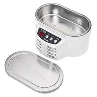 30 W 50 W Mini Bain de Nettoyage À Ultrasons Pour Bijoux Lunettes Circuit Conseil Nail Outils De Nettoyage