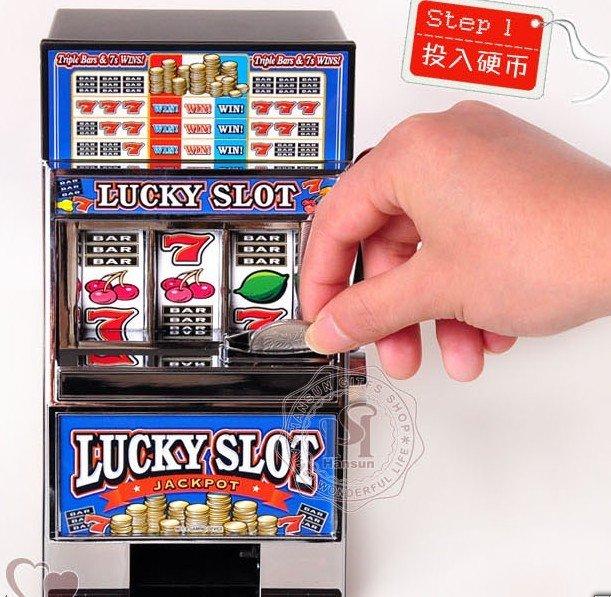 Slot machine toy bank progressive roulette in dominican republic