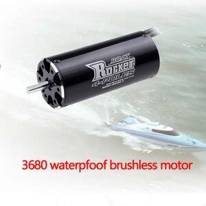 Image 2 - Surpasshobby Rocket 3680 1250KV 1100KV 880KV 4P Borstelloze Motor Voor Traxxas M41 Catamaran Spartan 800Mm 1000Mm rc Boot Auto