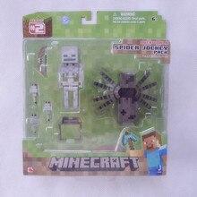 Minecraft надземным паук жокей блок , оригинальный Jazwares игрушки и игры фигурку новые в коробке
