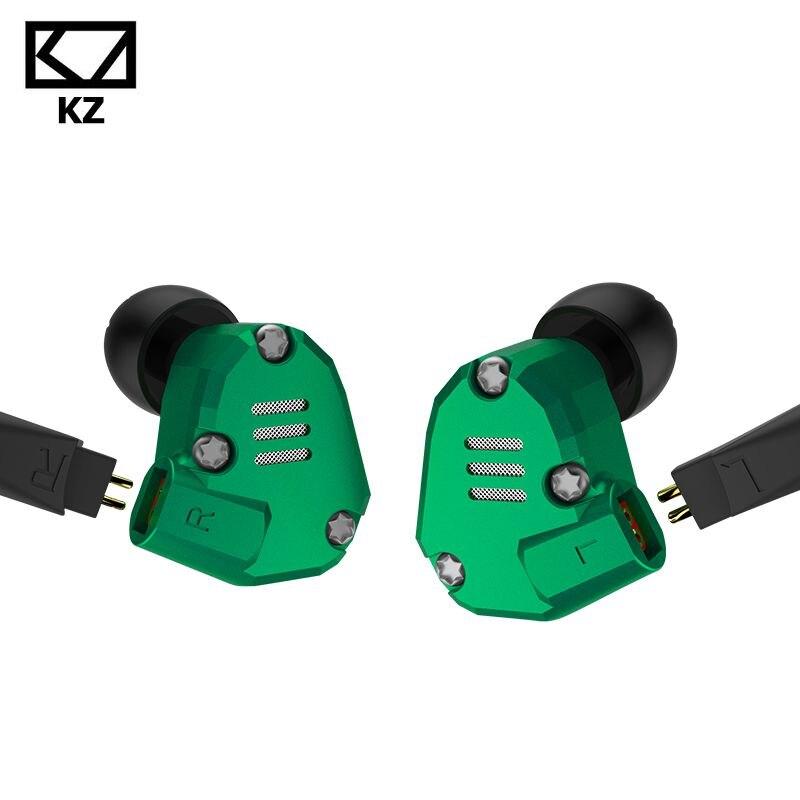 Ship in 24 Hours! KZ ZS6 2DD+2BA Hybrid In Ear Earphone HIFI DJ Monitor Running Sport Earphone Earplug Headset Earbud PK KZ ZS5