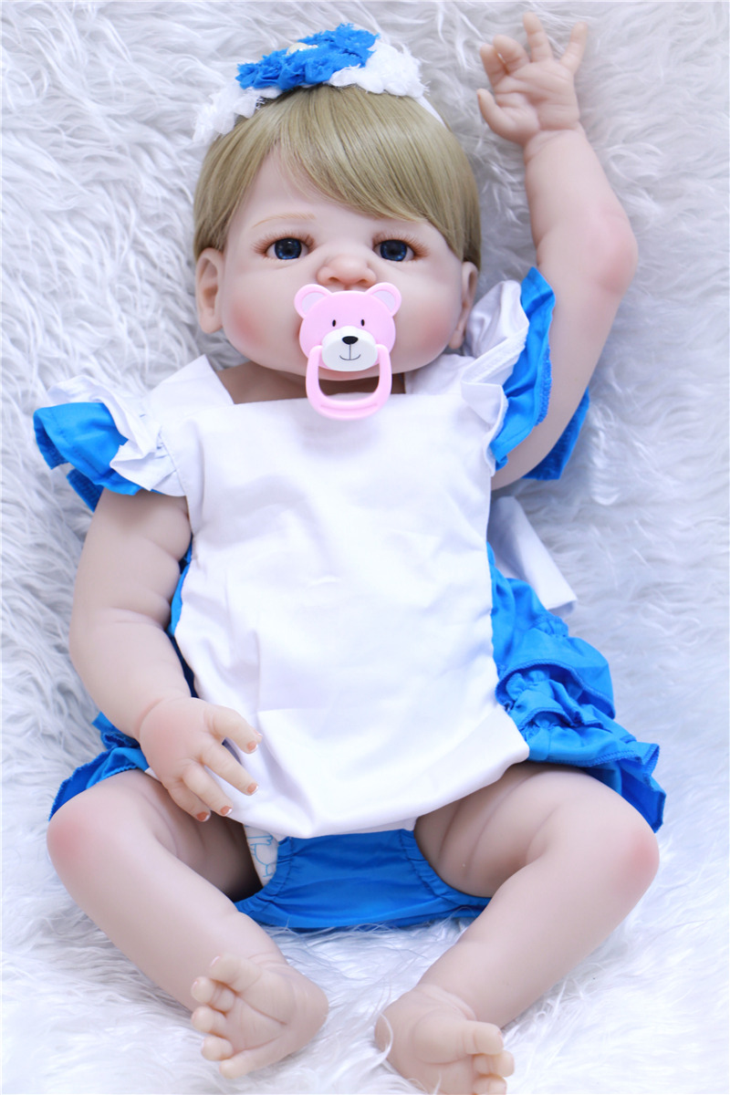Toys Are Us Baby Dolls : Full silicone body reborn baby dolls toys lifelike cm