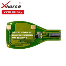 XHORSE VVDI ESSERE Pro Chiave Per Benz XNBZ01CH Chiave A Distanza di Chip V1.5 Versione Migliorata In Grado di scambiare token per VVDI MB BGA Strumento Chiave Borsette
