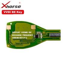 Xhorse Vvdi Được Chìa Khóa Pro Cho Benz XNBZ01CH Phím Remote Chip V1.5 Phiên Bản Cải Tiến Có Thể Trao Đổi Đột Quyết Cho Vvdi Mb BGA Công Cụ Vỏ Chìa Khóa