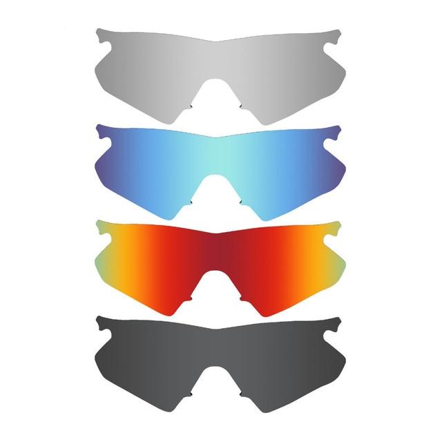 HKUCO Mens Replacement Lenses For Oakley M Frame Hybrid Red/Blue/Black/Titanium/Bronze Sunglasses aClXKr2g