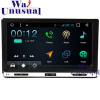 7 2DIN Android 6.0 Auto GPS Navigation Radio Stereo for Universal with GPS+WIFI+BT+DVR+Mirror link+Quad Core 16GB+TV+3G+800*480