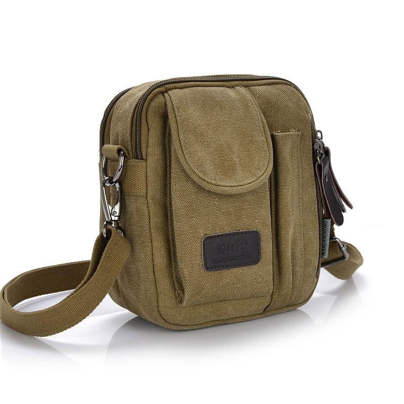 купить Cooamy Brand Bag Men Messenger Bags Men's Crossbody Small sacoche homme Satchel Mini Satchels bolsos Men's Travel Shoulder Bags по цене 844.77 рублей