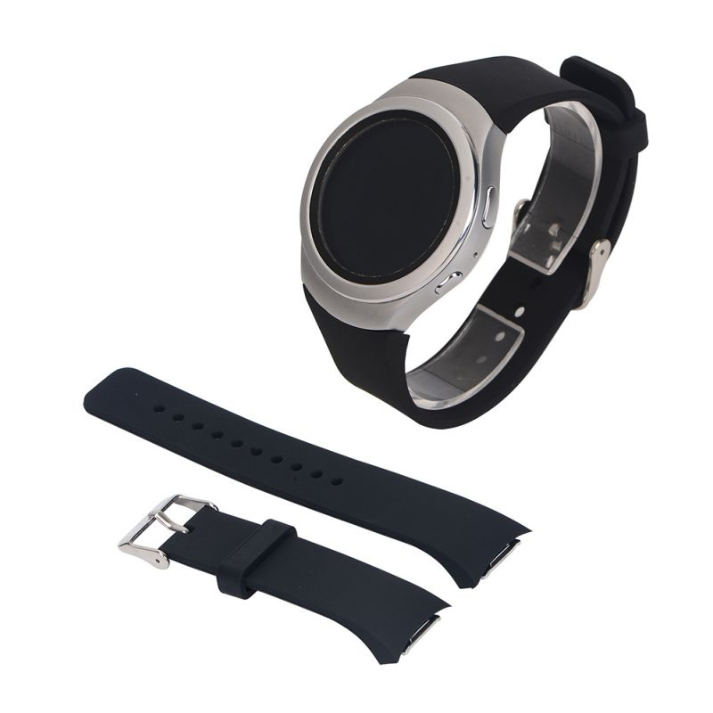 Unisex Silicone Strap Watchband Replacement for  Samsung Galaxy Gear S2 R720