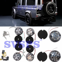 Tuning LED lights Full kit Tail lamps kit Stop Turn signal lights For Land Rover Defender Vehicle Car 90 110 1992 2016 year