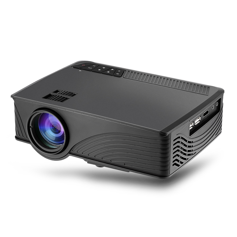 GP-12 LED Projector 800 X 480 Pixels 2000 Lumens Support 1080P For Home CinemaGP-12 LED Projector 800 X 480 Pixels 2000 Lumens Support 1080P For Home Cinema