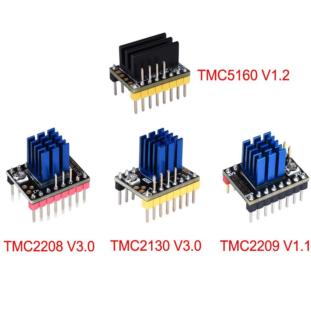 ①  BIGTREETECH TMC2208 TMC2130 TMC2209 TMC5160 Драйвер шагового двигателя Шаговый 3D-принтер Запчасти M ✔