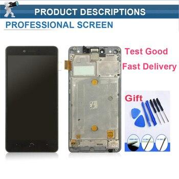 Weicheng untuk BQ Aquaris U/U Lite/U Plus LCD Display + Sentuh Layar Perakitan dengan Bingkai Panel tactil untuk BQ U Lite/Plus + Gratis Tools