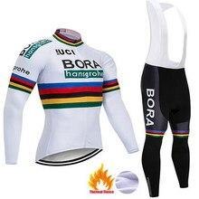 2018 Hot Long Sleeve Ropa Ciclismo Invierno BORA Cycling Jerseys Winter  Thermal Fleece warm MTB Bicycle Clothing Bike Clothes c6cb4b3c4