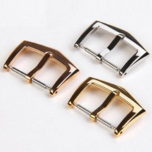 18mm High Quality 316L Stainless Steel Watch Band Buckle Strap Silver Folding Clasp Replacement for Patek Philippe Other watches недорого