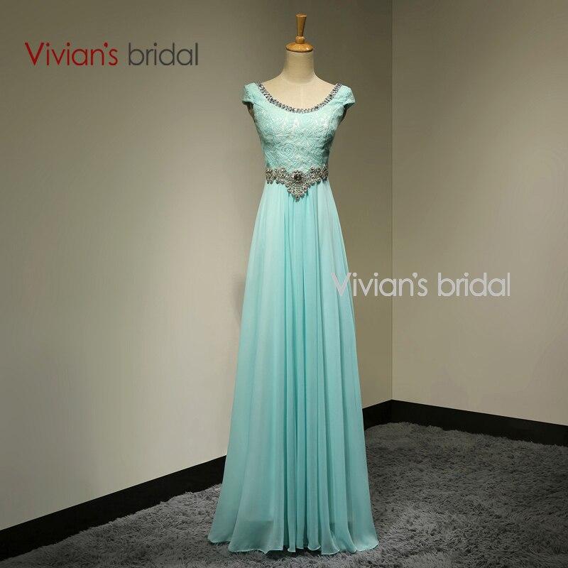 Vivian's Bridal Crystal Beads Ұзын кешкі көйлек - Ерекше жағдай киімдері - фото 1