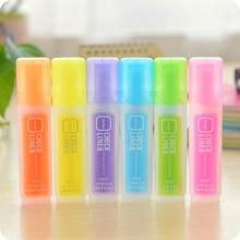 Неоновая ручка разноцветная маркер удобный хайлайтер высокая