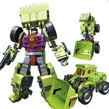 6 in 1 IN-STOCK NBK 01-06 Kait Scraper Dari Devastator Robot Transformasi Ko Version Gt Action Figure Mainan luar Pantai