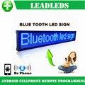 77 см Bluetooth Программируемый Светодиодный Знак/СВЕТОДИОДНЫЙ дисплей Доска Может Прокрутки Сообщение для Бизнеса и Магазин-Синий Сообщение