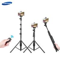 YUNTENG Selfie Stick Monopod for Phone Cellphone Selfie Stick Tripod Holder for xiaomi iPhone 8 plus selfiestick for Action Cam