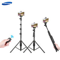 YUNTENG Selfie Stick Monopod for Phone Cellphone Selfie Stick Tripod Holder for xiaomi iPhone 8 plus selfiestick for Action Cam