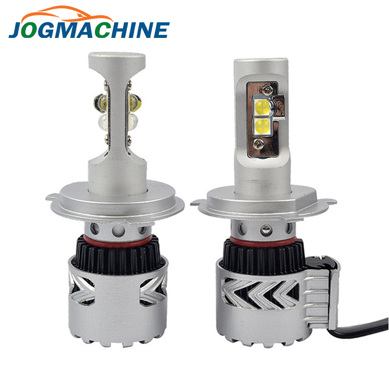 JOGMACHINE Marque Voiture LED Phares H7 H8 H9 H10 H11 9005 (HB3) 9006 (HB4) 72W 6000LM