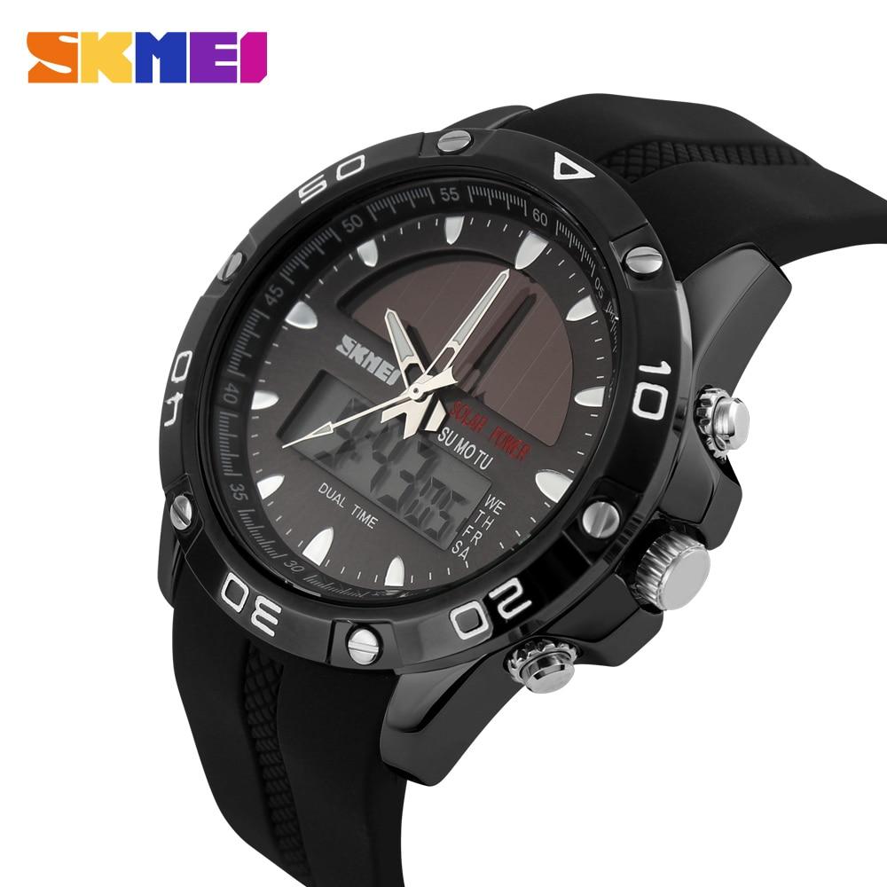 Sensible Skmei Top Brand Luxury Men Sports Watches Digital Analog Military Led Electronic Quartz Wristwatches Man Clock Relogio Masculino Men's Watches Digital Watches