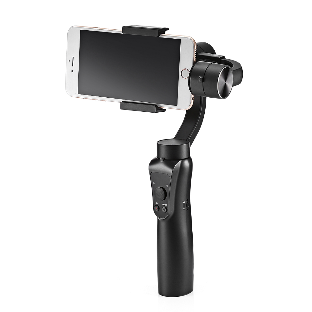 Mesuvida D-S5 3-axis Handheld Gimbal Bluetooth Stabilizer Action Camera Selfie Phone Steadicam For Smartphone Canon Sony GoPro wewow sport x1 handheld gimbal stabilizer 1 axis for gopro hreo 3 3 4 smartphone iphone 7 plus yi 4k sjcam aee action camera