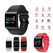 X9 Pro Relógio Inteligente, Pulseira Banda Cor OLED de Oxigênio No Sangue Monitor de Pressão Arterial inteligente da Frequência Cardíaca Rastreador De Fitness Pulseiras