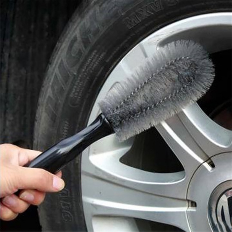 New Car Tools Clean 1PCS Car Truck Motorcycle Bicycle Washing Cleaning Tool Wheel Tire Rim Scrub Brush Car Brush Tool