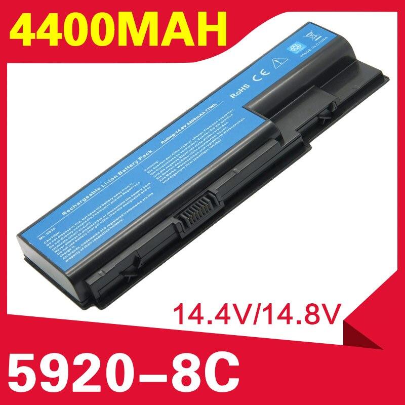 ApexWay 4400mAh batería de la batería para Acer Aspire 5920G 5520G 5315 AS07B31 AS07B32 AS07B41 AS07B42 AS07B51 AS07B52 AS07B61 AS07B71 AS07B72 JIGU batería del ordenador portátil para Acer AS07B31 AS07B32 AS07B41 AS07B42 AS07B51 AS07B52 AS07B71 AS07B72 AS07B31 AS07B51 AS07B61