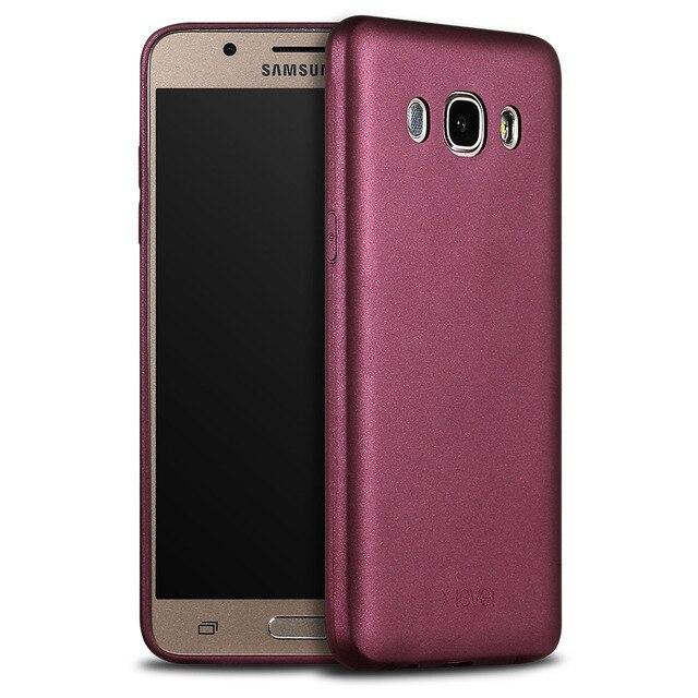 the latest 17c41 96cbf US $6.99 30% OFF|X Level Guardian Soft Matte TPU Case for Samsung Galaxy J7  2016 J710 Scrub Back Cover for Samsung J7 6/J710F/J710M Silicon Case-in ...