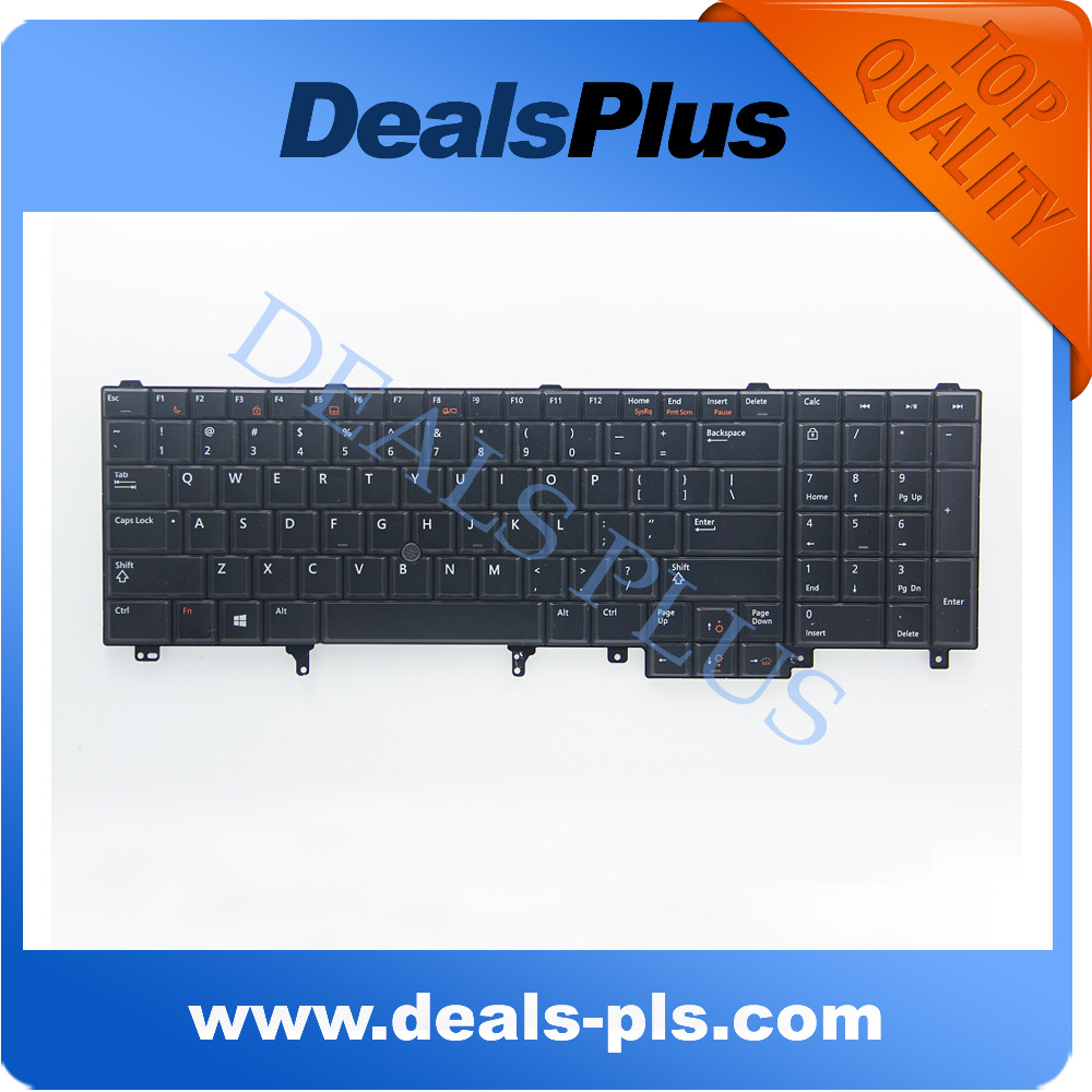 New Backlit US Keyboard With Pointer For Dell Latitude E6520 E6530  E6540 E5520 E5520M E5530 PRECISION M4600 M4700 M6600 M6700  brand new us keyboard black for dell latitude d630 d620 d830 d820 pp10s pp18l m65 laptop us keyboard