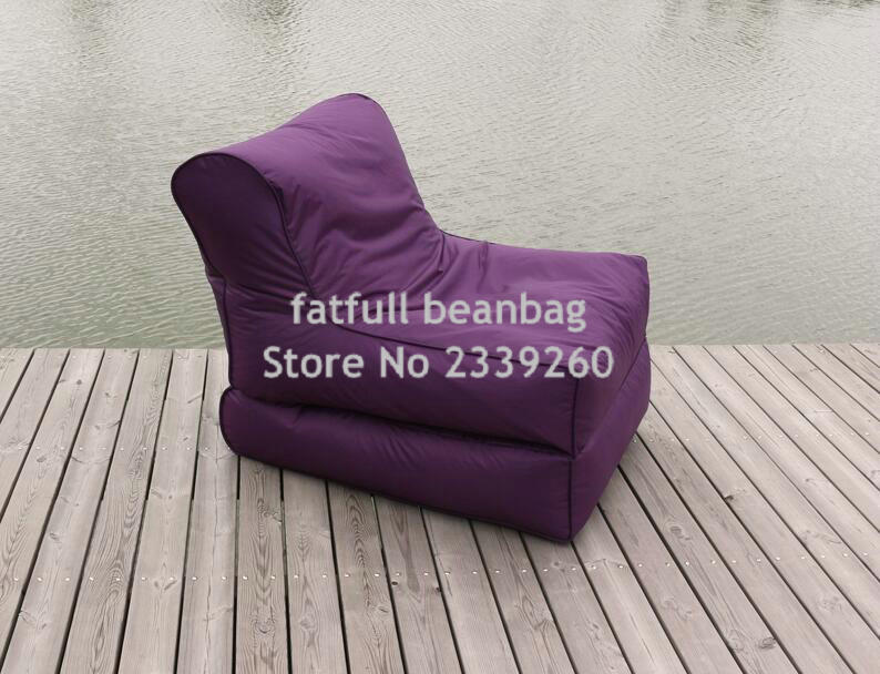 cover onlyno filler faux polyester outdoor giant folding fashionable bean bag chair - Giant Bean Bag Chairs