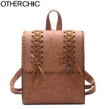 Otherchic Брендовые женские модные Рюкзаки кожаный мешок школы для девочек-подростков старинные путешествия Рюкзаки рюкзак мешок DOS L-7N-18