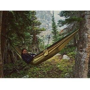 Image 5 - 118in × 75in 2019 パラシュートハンモックキャンプサバイバル garden 狩猟レジャー hamac 旅行ダブル人 hamak ramac