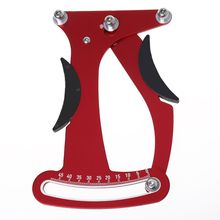 Bicycle Spoke Indicator Tension Adjustment Bike Tensiometer Wheel Stress Aluminum Alloy Builders Tools Repair
